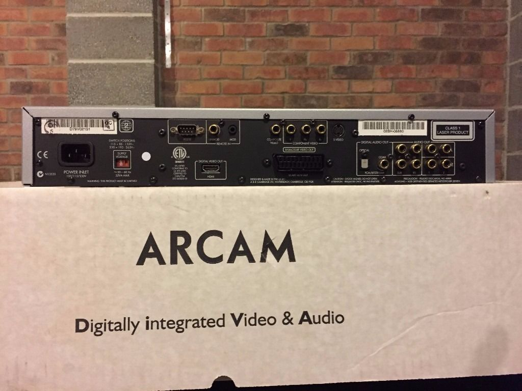 DVD Player Arcam DV79