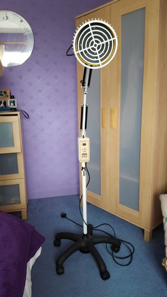 Floor Infrared TDP Heat Therapy lamp with timer, immaculate