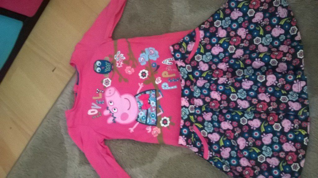 peppa pig skirt and top BNWT.9-12M