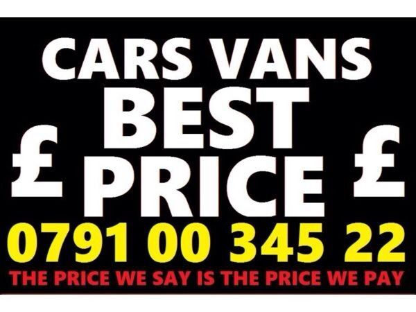 079100 34522 WANTED CAR VAN 4x4 BIKE SELL MY BUY YOUR FOR CASH Fast N