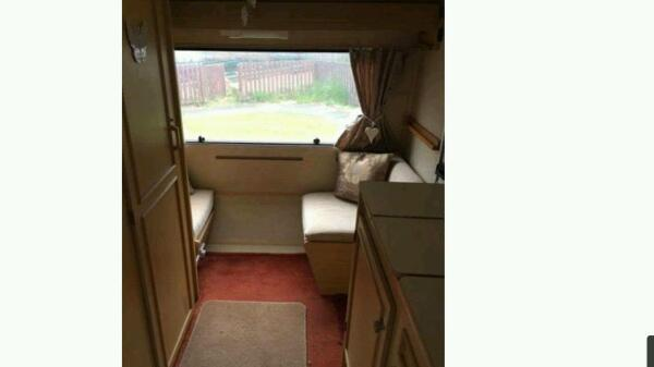 Caravan for sale small but clean