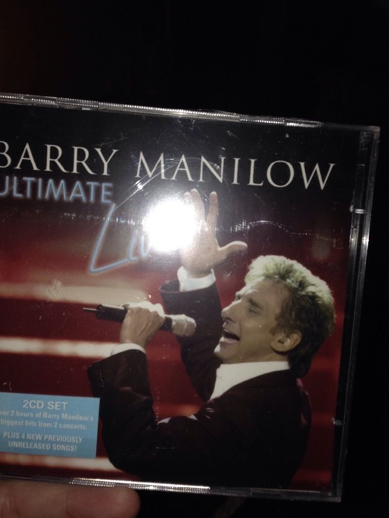 barry manilow ulitamate live