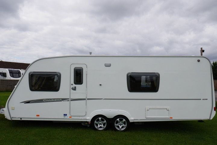 2007 Swift Charisma 620 4 Berth Caravan Fixed Bed