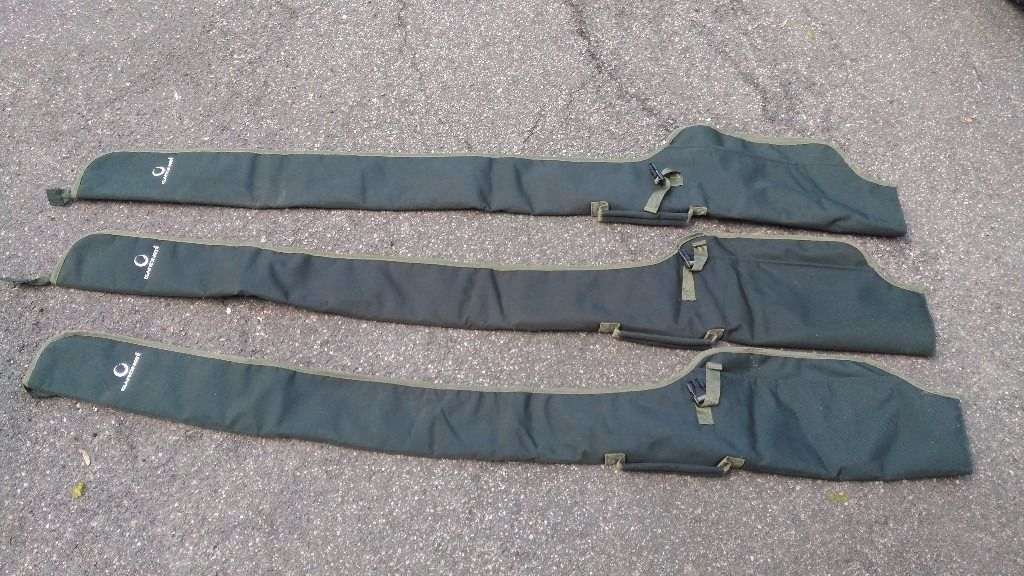 """x3 Gardner 5' 6"""" Rod Sleeves (including reel pouch)"""