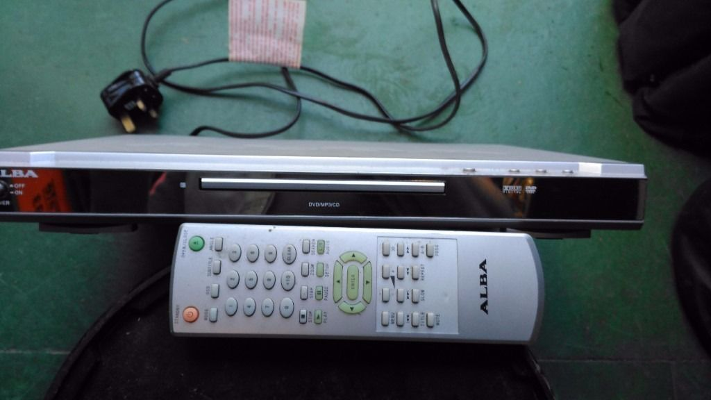 ALBA DVD59 DVD/MP3/CD player