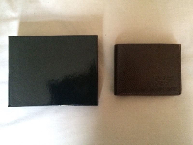 Armani men's wallets