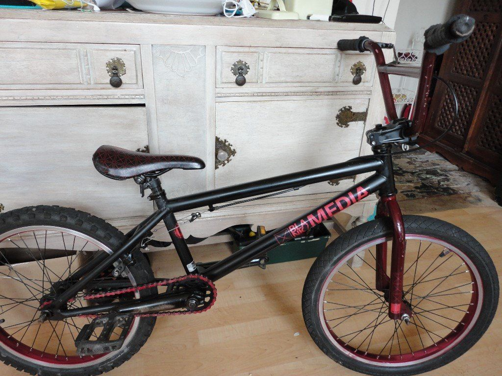 Blank media bmx swap for kids bike.