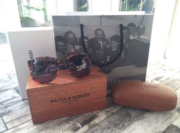 Walter & Herbert Askew Ladies Sunglasses in Flaming Ember (New & beautifully boxed)