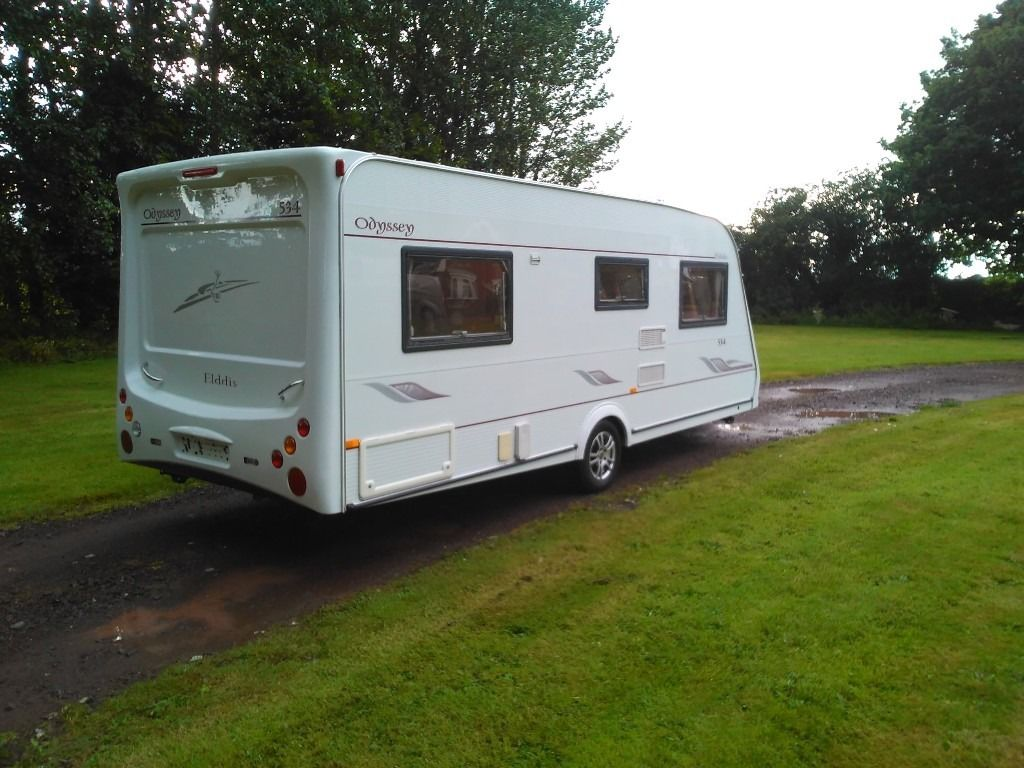 2005 Elddis Odyssey 534 .4 berth with fixed bed