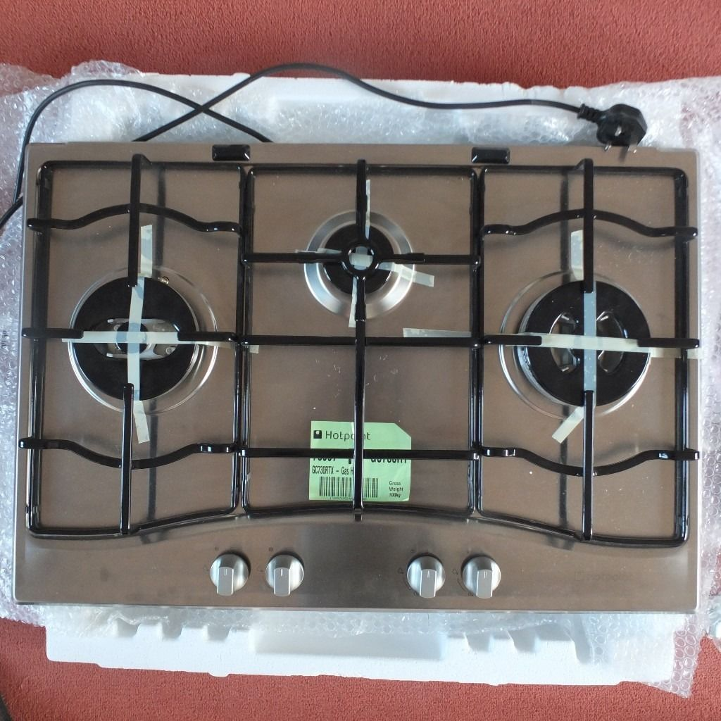 New Three Ring Gas Hob