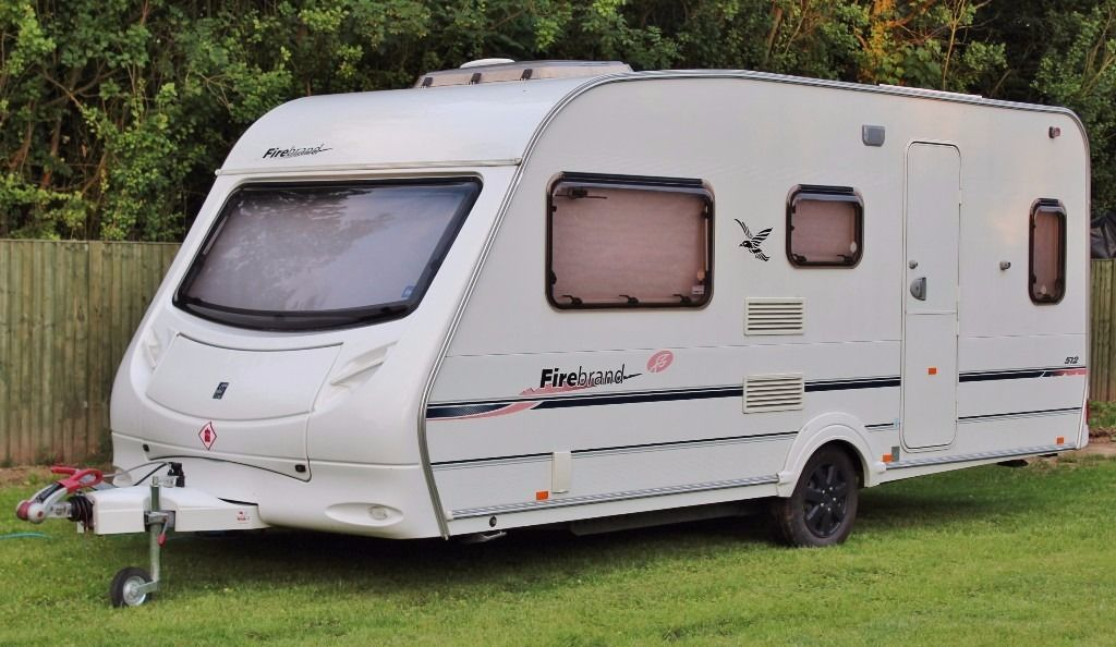 2006/07 SPRITE (SWIFT) FIREBRAND 512, 5 BERTH WITH END BATHROOM & AWNING, CRiS CHECK, EXTRAS!
