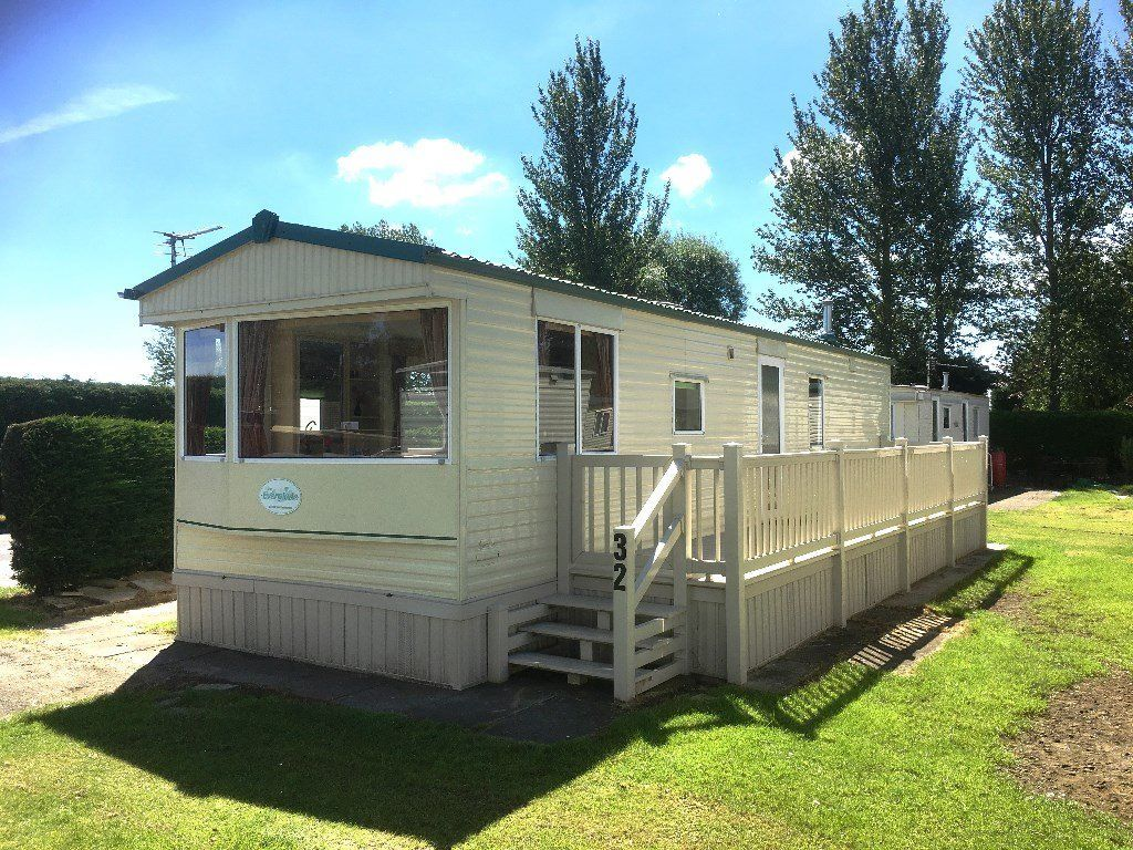 CHEAP STATIC CARAVAN FOR SALE IN SKEGNESS, LINCOLNSHIRE, EAST COAST SEASIDE TOWN NEAR SCARBROUGH