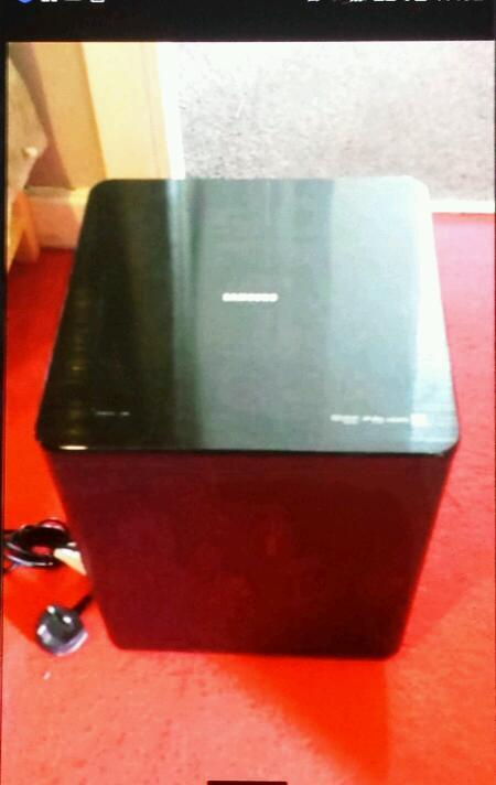 Samsung subwoofer with remote only