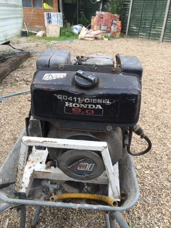 Diesel Honda engine power washer