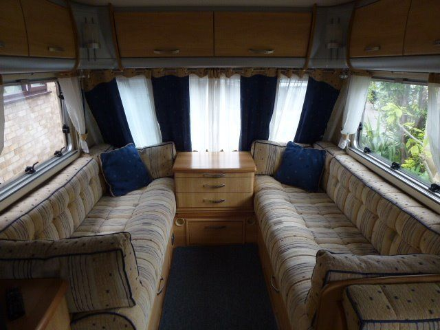 Year 2005 Sterling Eccles Moonstone, 4 berth touring caravan