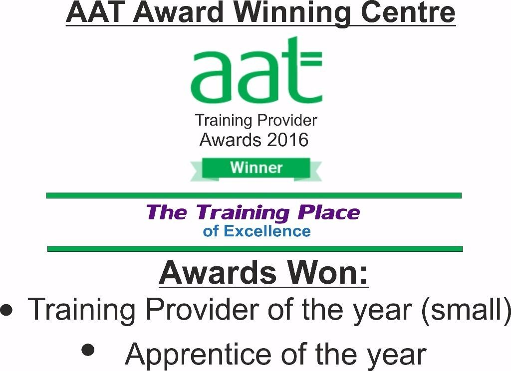AAT Accounting Apprenticeship for 16- 23 year olds