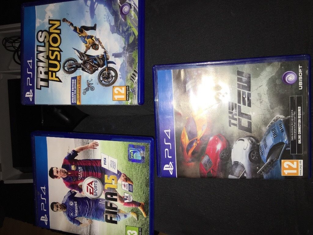 Play station 4 plus games