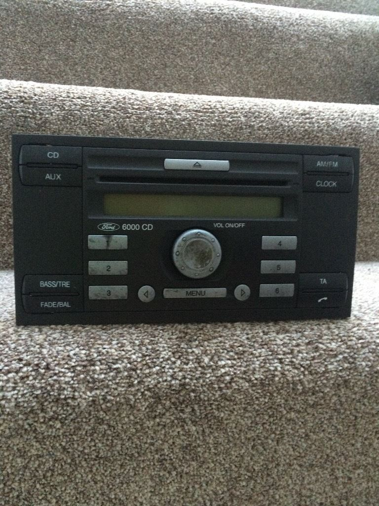 FORD TRANSIT CAR RADIO WITH CODE