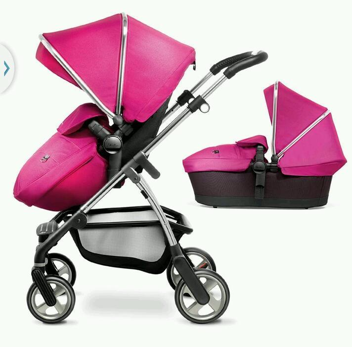 Silver cross wayfarer travel system (new condition-only 3 month old) pram pushchair and carrycot