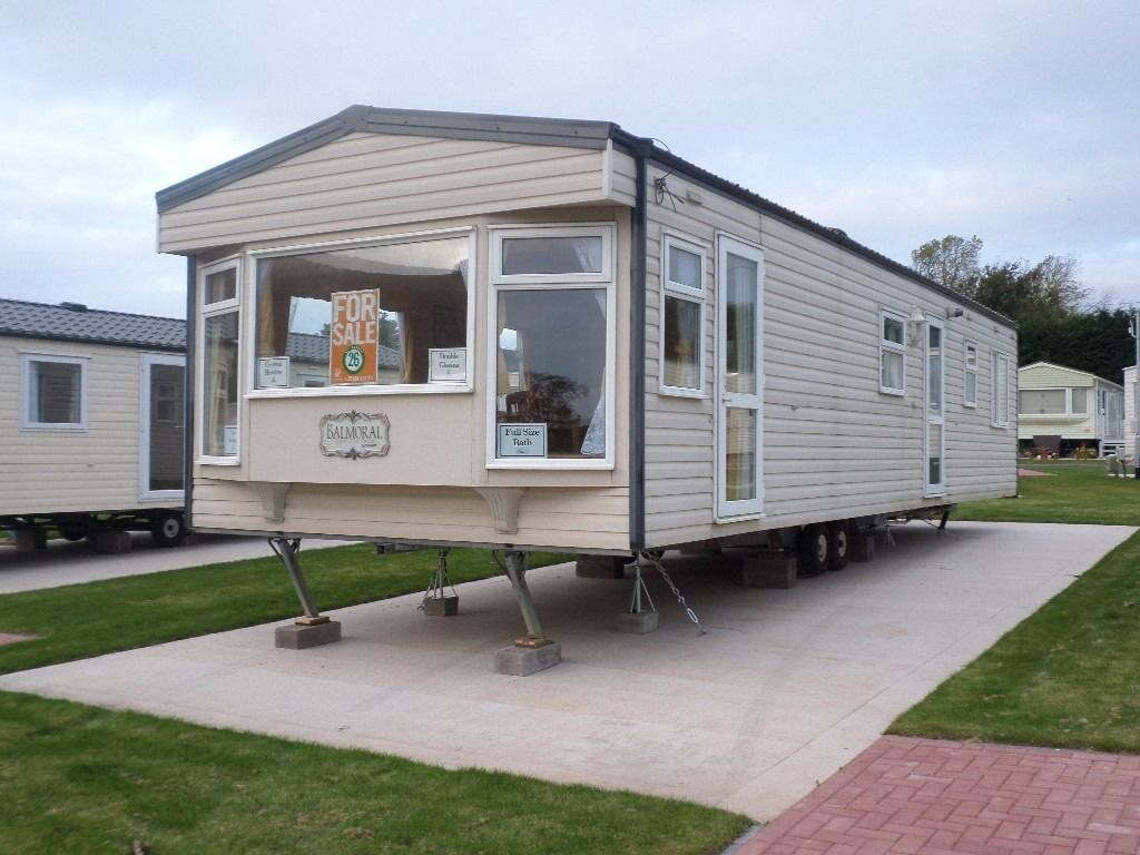 2004 Cosalt Balmoral static caravan for sale at Chesterfield Country Park in Berwickshire