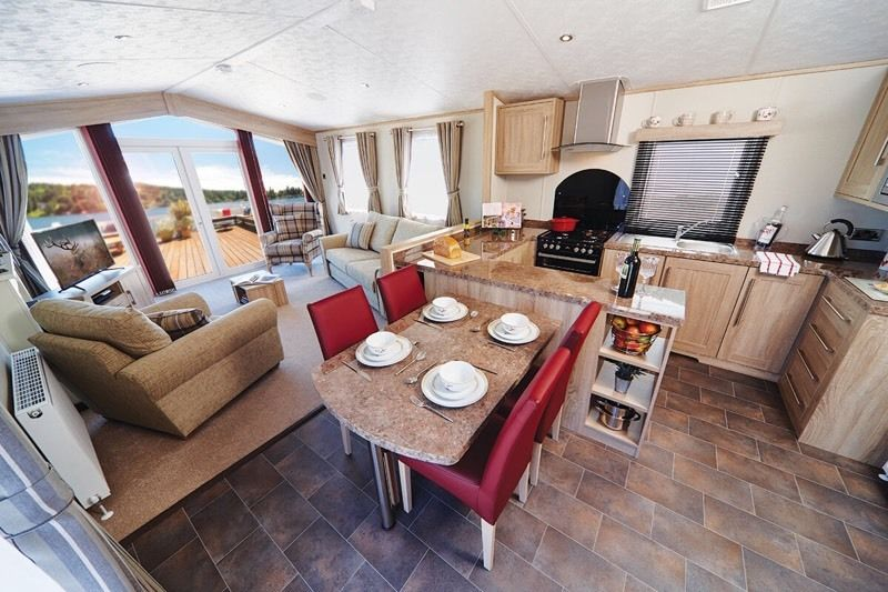 Brand new luxury holiday home at Wemyss Bay holiday park