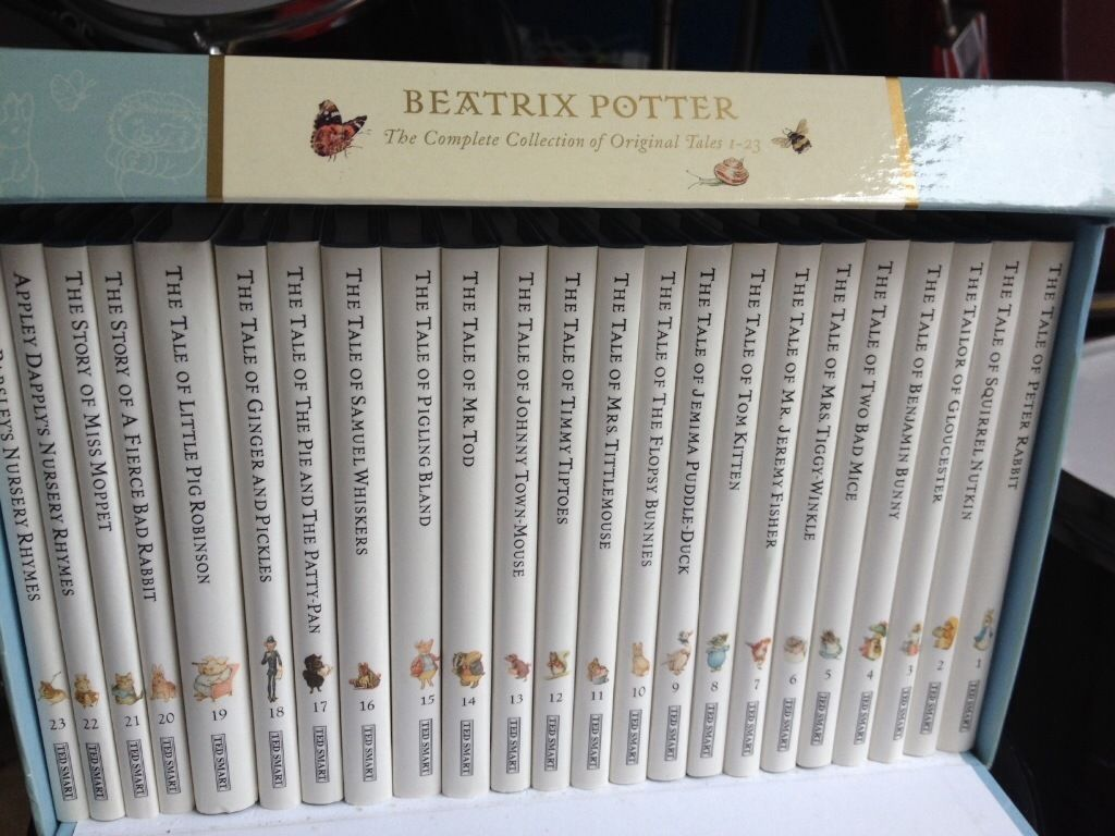 Collection of 23 Beatrix Potter books