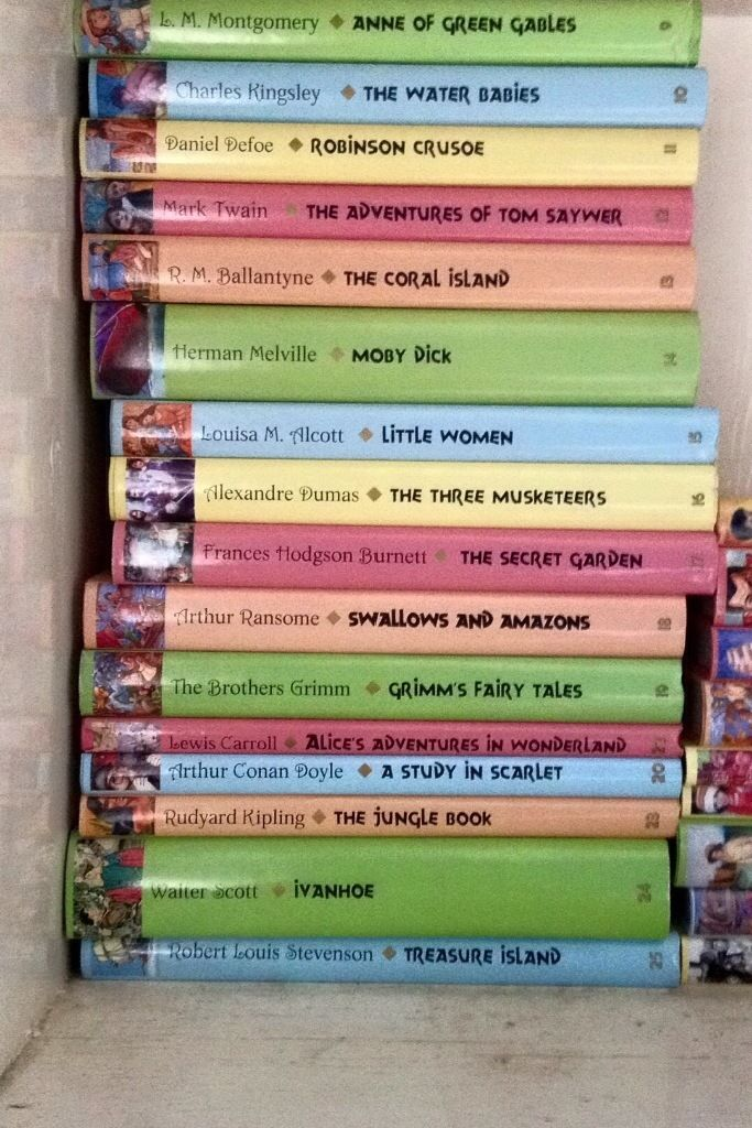 Collection of 25 children's classics