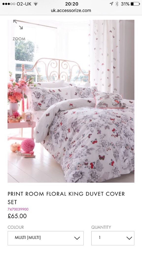 accessorize Bedding set
