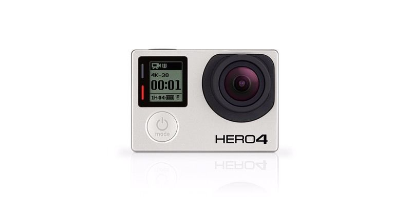 GoPro hero 4 silver edition, 4 months old