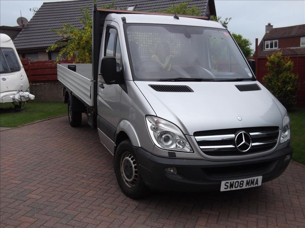 Mercedes 311 Alloy Dropside Pick Up, High spec, Automatic Cruise Control