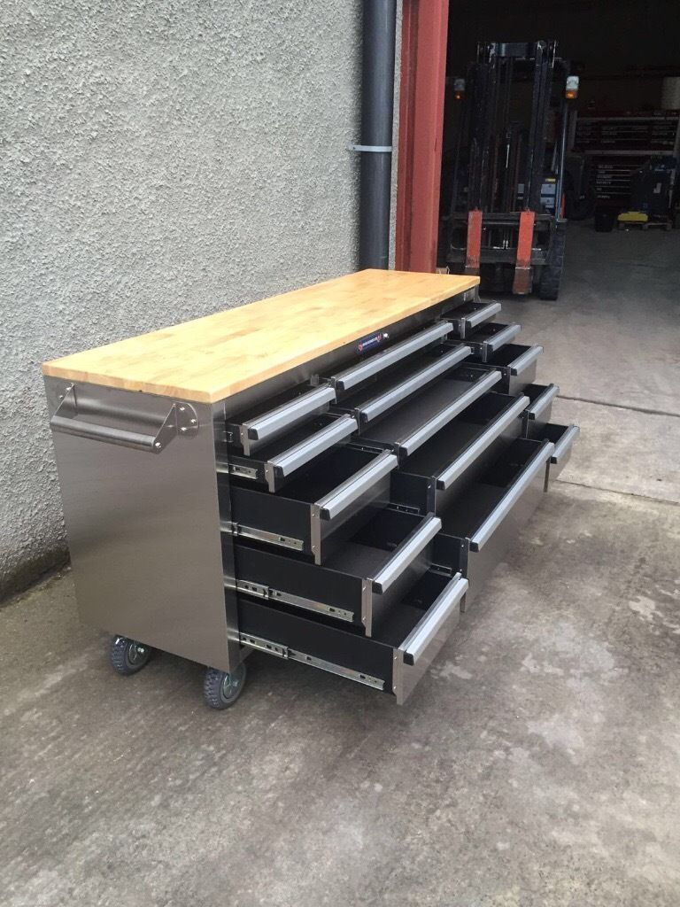 Stainless Steel Tool Chest Box