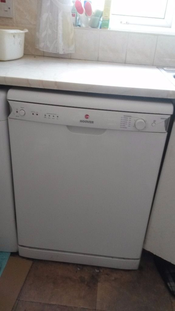 Hoover dishwasher for sale. Colour white.