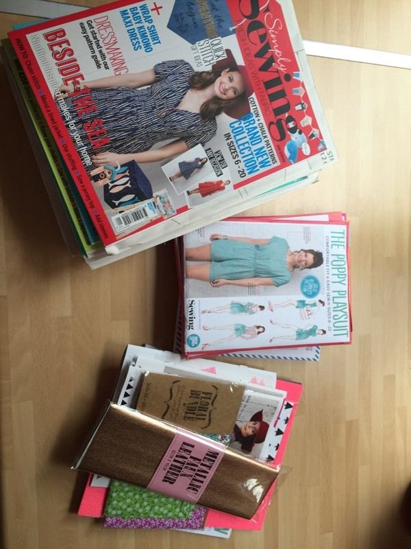 Sewing magazines and patterns bundle