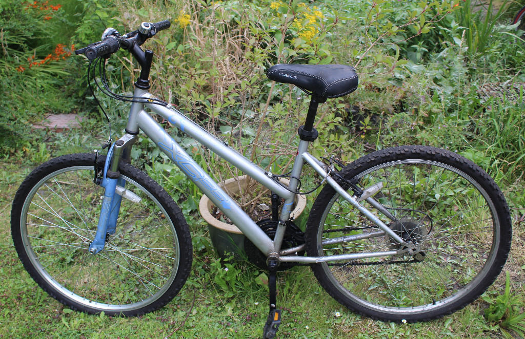 Assorted Family Bicycles Mountain Bikes Ladies Kids Used and Car Bike Rack