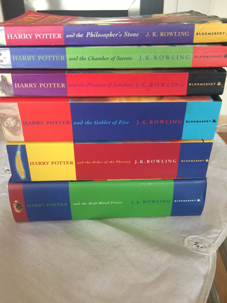 Six Harry Potter Book Collection