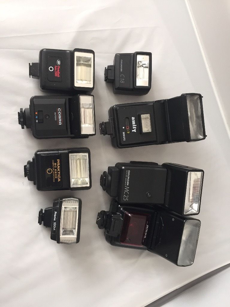 Job lot flashes tested working