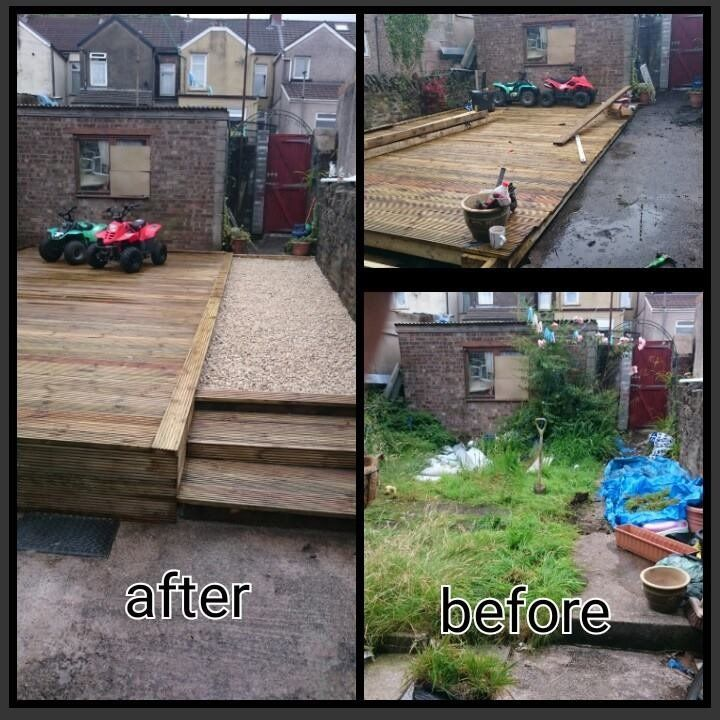 Gardening Services Fencing and Decking at great prices!