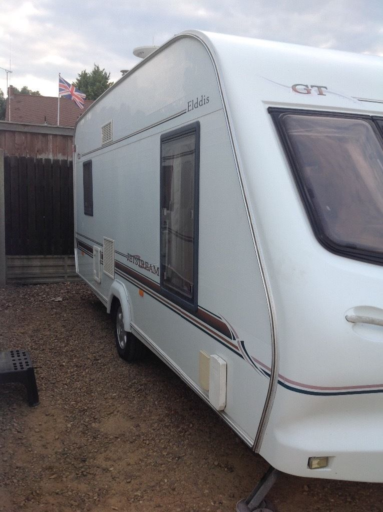 Elddis Gt jet stream 2002 4 berth end kitchen