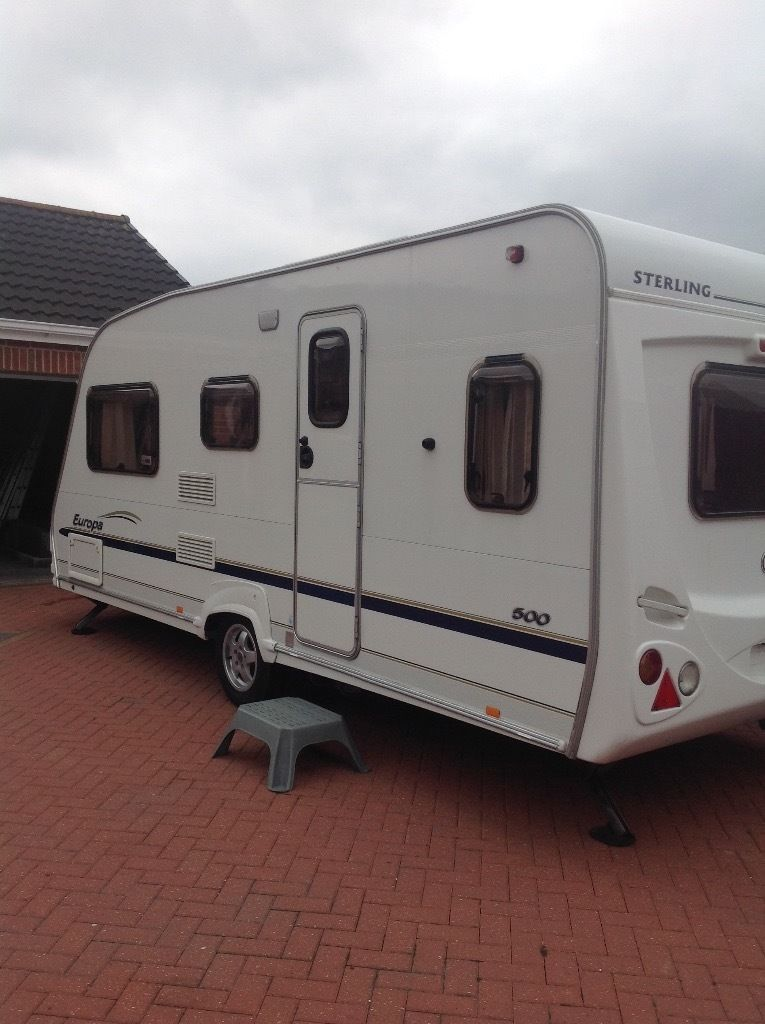 Sterling Europa 2006 5 berth double dinet
