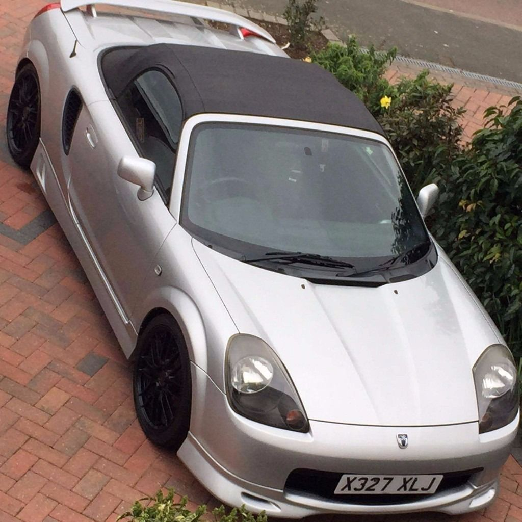 Japanese import MR-S rare in uk,very loud,looking to swap for another convertible