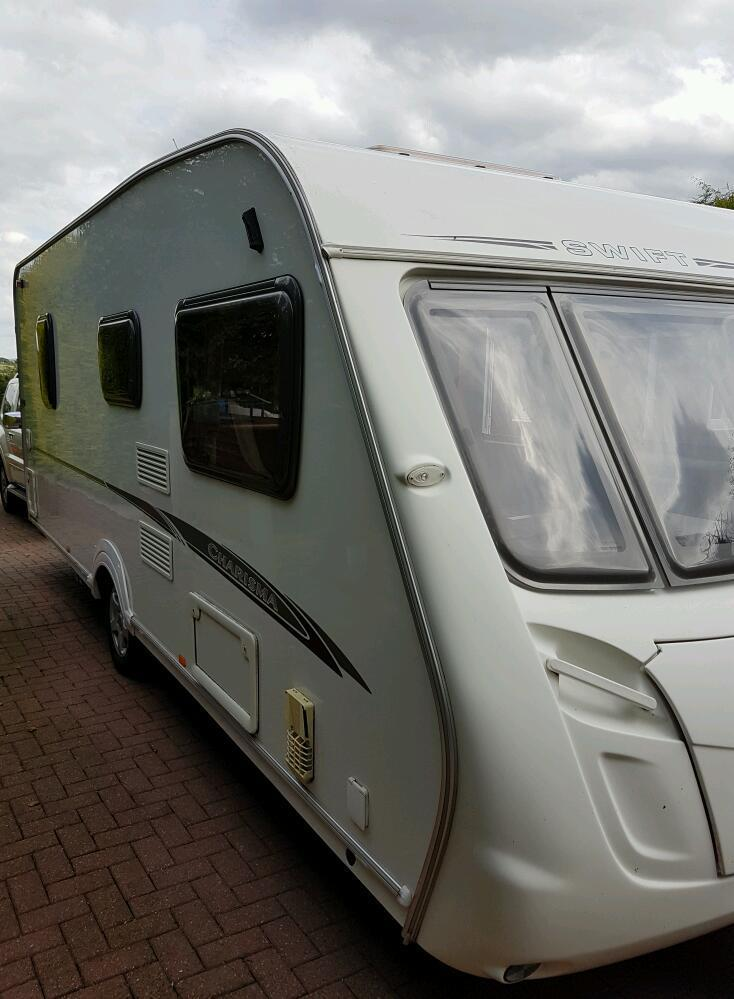 Swift charisma 4berth fixed bed 2008
