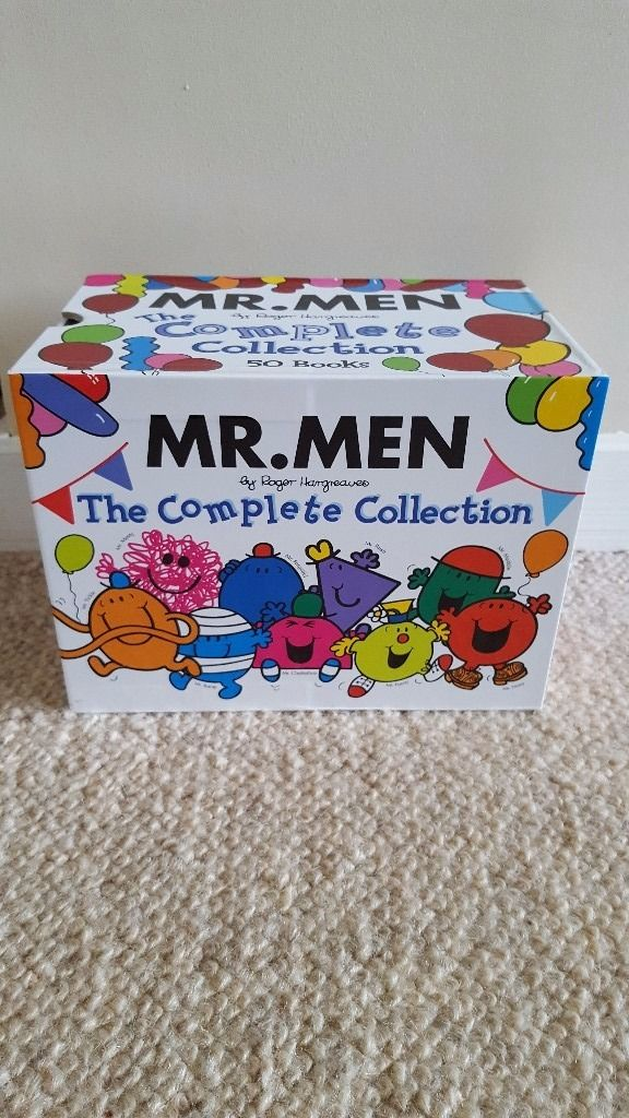 Immaculate Mr.Men Complete Collection 50 books