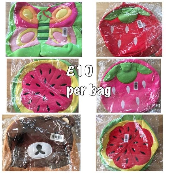 Children's hand bags and Back packs