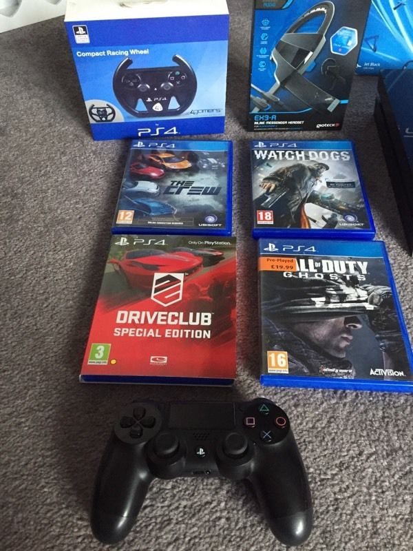 Ps4 with games and accessories playstation 4 bundle