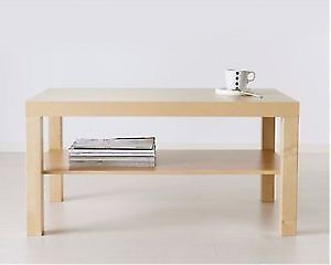 Light oak Veneer coffee table L1180 X W780