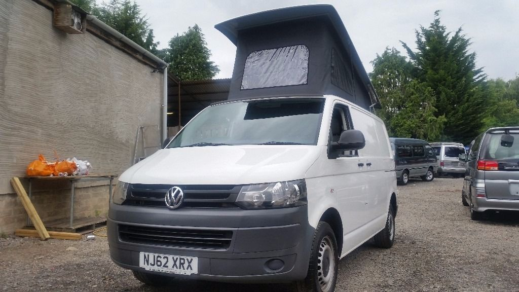 2012 VOLKSWAGEN TRANSPORTER T5 T5.1 POP TOP 56,000 MILES FROM ONE OWNER 2.0 TD CAMPER VAN CAMPERVAN