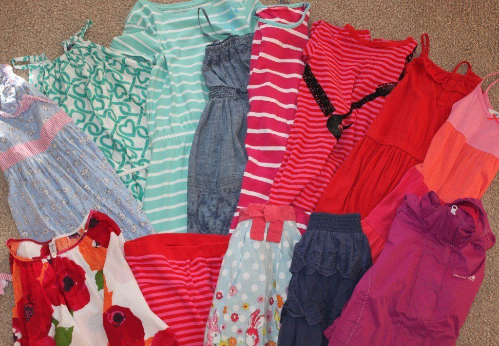 Excellent quality bundle of girls clothes mainly aged 6-8.