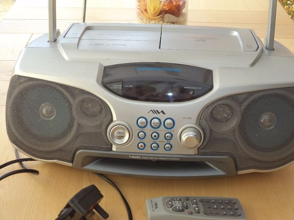 CD Stereo Radio Cassette Recorder