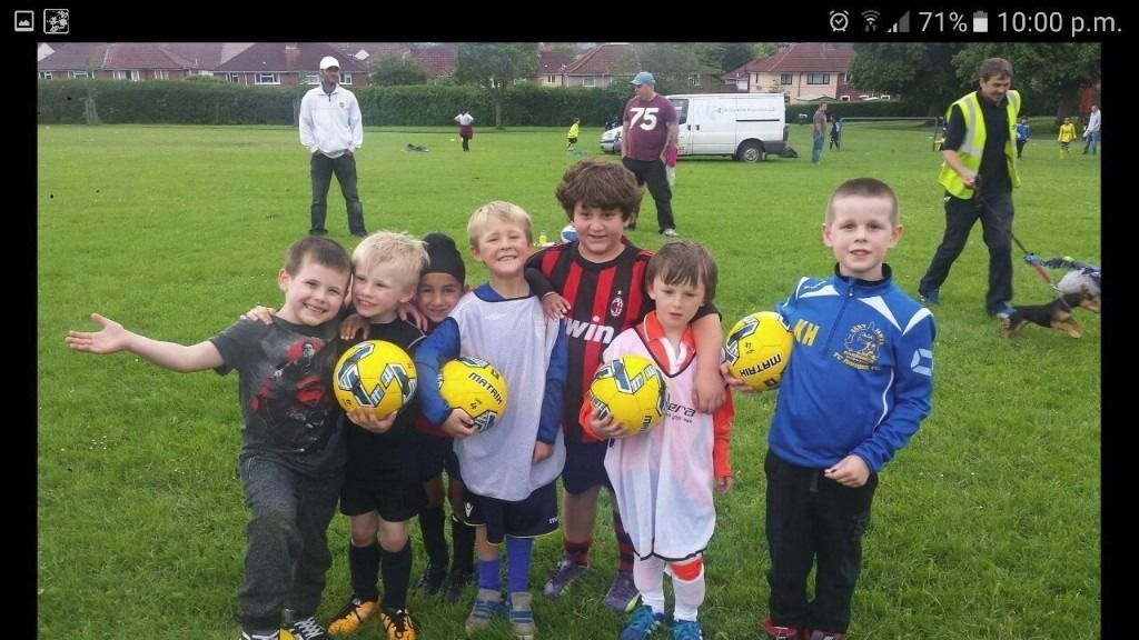 TC SOCCER TOTS GROUP - FOR AGES 4-6