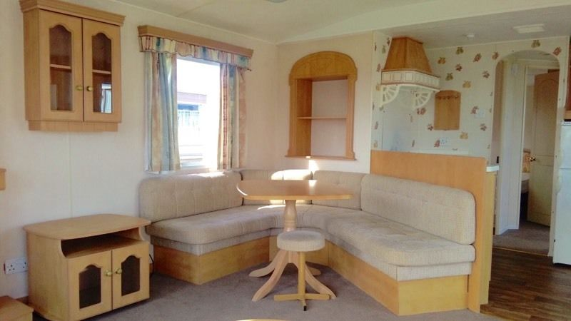 Static caravan holiday home Morecambe north west sea view 12 month park not regent not haven